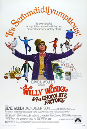 <strong><em>Willy Wonka and the Chocolate Factory</em></strong>