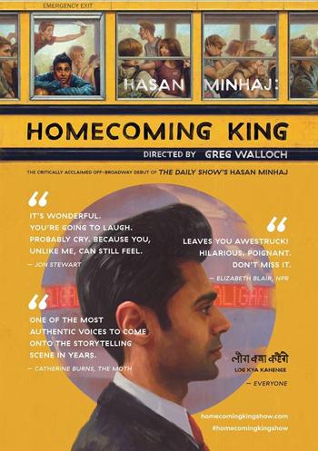 <strong>Hasan Minhaj<br><small><em>Homecoming King</em></small></strong>