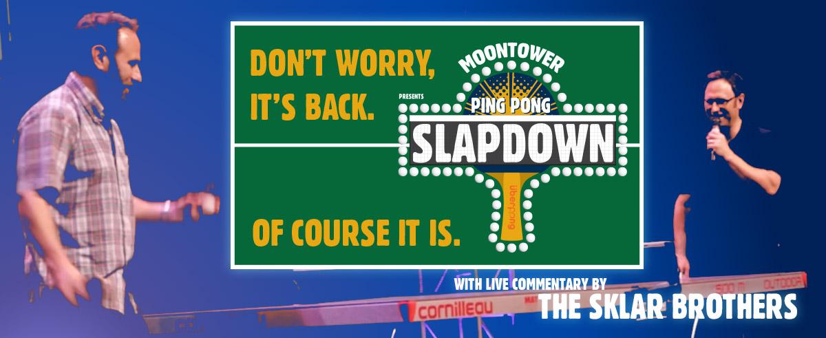 Ping Pong Slapdown