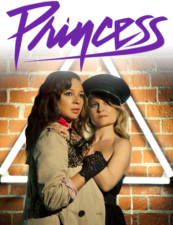 <strong>Princess<br><small>starring Maya Rudolph and Gretchen Lieberum</small></strong>