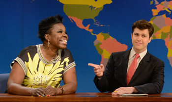 <strong>Leslie Jones & Colin Jost<br><small>Live From Moontower</small></strong>
