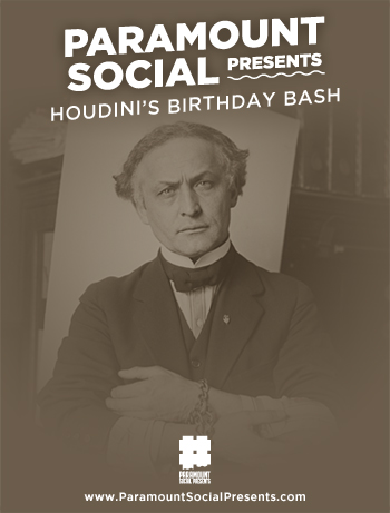 <strong>Houdini's Birthday Bash & Panic Room</strong>