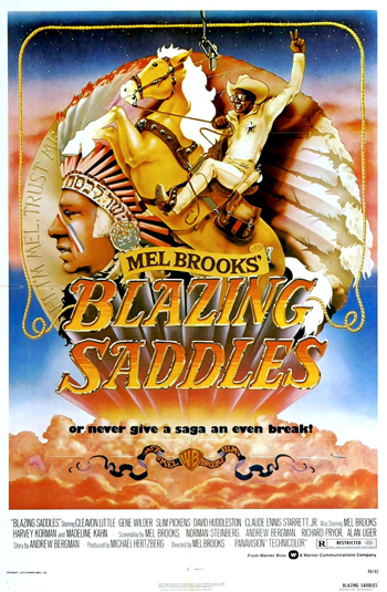 <b>Blazing Saddles</b>