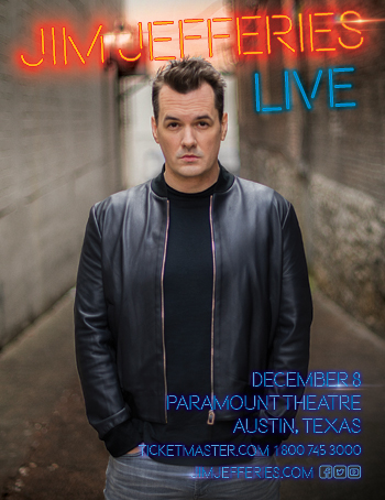 <strong>Jim Jefferies<br>The Unusual Punishment Tour</strong>