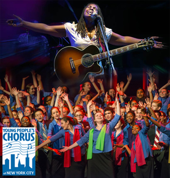<strong>Young People's Chorus of New York City<br> Francisco J. Núñez, Artistic Director/Founder<br> with Special Guest Ruthie Foster</strong>