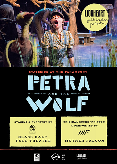<strong><em>Petra & The Wolf</em><br><small>A Texas-Based Adaptation of Peter & the Wolf</small></strong>