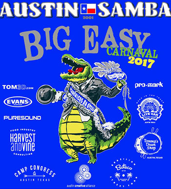 <strong>Austin Samba presents The Big Easy</strong>