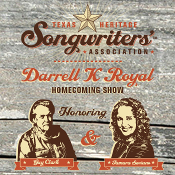 <strong>A Guy Clark Tribute Concert and DKR Award Honoring Tamara Saviano</strong>
