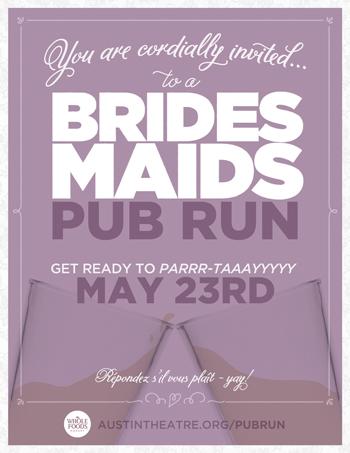 Bridesmaids Pub Run
