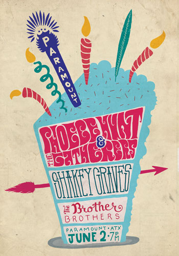 <strong>Phoebe Hunt & The Gatherers with Shakey Graves</strong>
