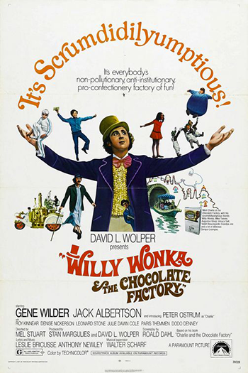 <strong>Willy Wonka and the Chocolate Factory</strong>