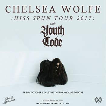 <strong>Chelsea Wolfe: Hiss Spun Tour 2017</strong>