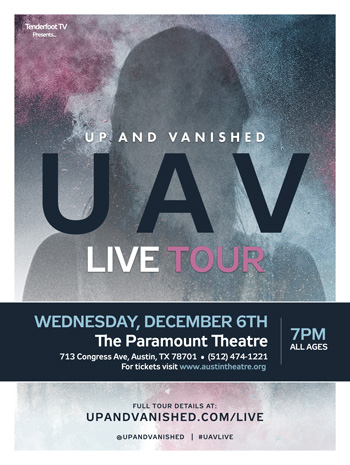 <strong>Up and Vanished Live</strong>