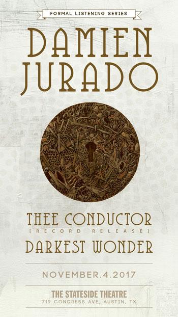 <strong>Damien Jurado, Thee Conductor, Darkest Wonder</strong>