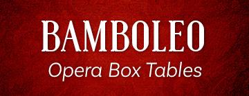 BAMBOLEO Opera Box Tables