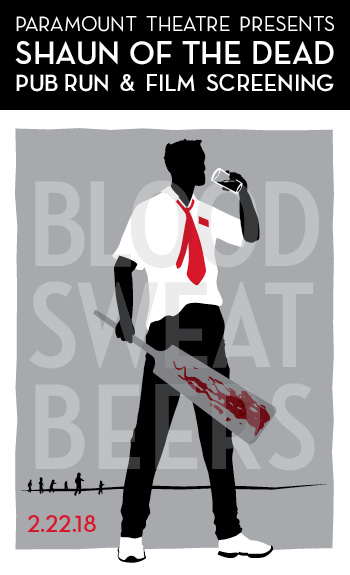 Shaun of the Dead Pub Run