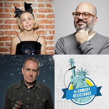 <b>An Evening for The Comedy Resistance Starring David Cross, Maria Bamford, Ted Leo, and Friends!</b>