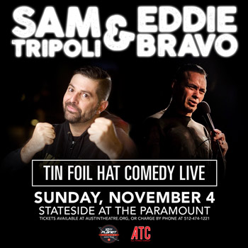 <b>Tin Foil Hat Comedy Live</b>