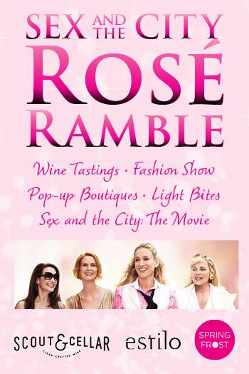 <b>Sex and the City Rosé Ramble</b>
