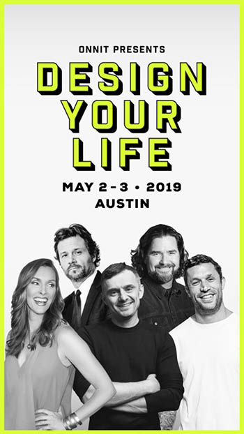 <b>Design Your Life: An Evening with Aubrey Marcus, Gary Vaynerchuk, & IN-Q</b>