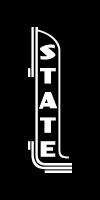 Stateside blade logo - white