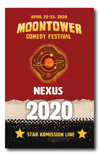 Moontower Comedy Festival Nexus Badge