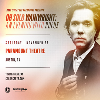 <b>Oh Solo Wainwright: An Evening with Rufus</b>