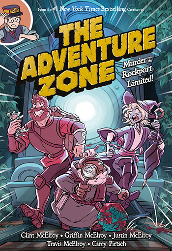 <b>The Adventure Zone Graphic Novel Live!</b>