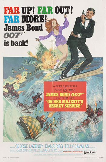<b>On Her Majesty's Secret Service</b>