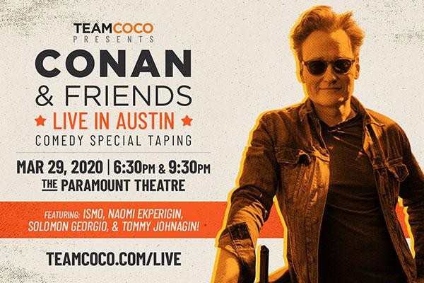 ** CANCELED ** Conan & Friends