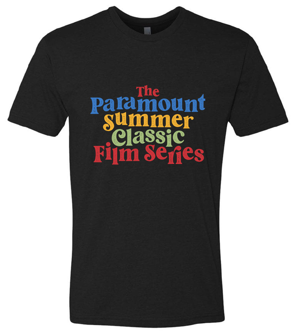 The Paramount Summer Classic Film Series t-shirt 2021