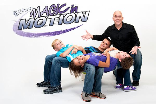 Bill Blaggs Magic In Motion